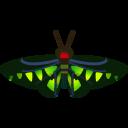 動森-紅頸鳳蝶