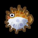 動森-刺河豚