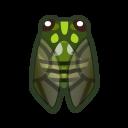 動森-斑透翅蟬