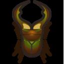 動森-細身赤鍬形蟲