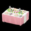 動森-婚禮餐桌