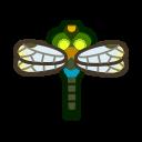 動森-綠胸晏蜓